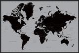 World Map - Contemporary Prints