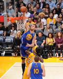 Apr 11, 2014, Golden State Warriors vs Los Angeles Lakers - Andrew Bogut Photographie par Andrew Bernstein