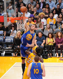 Apr 11, 2014, Golden State Warriors vs Los Angeles Lakers - Andrew Bogut Photographic Print by Andrew Bernstein