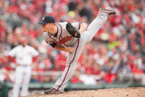 Apr 4, 2014, Atlanta Braves vs Washington Nationals - Craig Kimbrel Photographic Print by Mitchell Layton