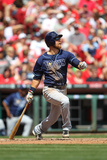Apr 12, 2014, Tampa Bay Ray vs Cincinnati Reds - Ben Zobrist Photographic Print by John Grieshop