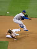 Mar 30, 2014, Los Angeles Dodgers vs San Diego Padres - Hanley Ramirez Photographic Print by Rob Leiter
