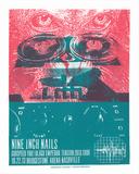 Nine Inch Nails - Tension Tour Serigrafi af Print Mafia