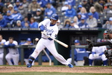 Apr 4, 2014, Chicago White Sox vs Kansas City Royals - Norichika Aoki Photographic Print by John Williamson