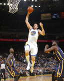 Jan 20, 2014, Indiana Pacers vs Golden State Warriors - Andrew Bogut Photographic Print by Rocky Widner