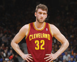 Mar 14, 2014, Cleveland Cavaliers vs Golden State Warriors - Spencer Hawes Photographic Print by Rocky Widner