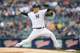 Apr 7, 2014, Baltimore Orioles vs New York Yankees - Hiroki Kuroda Photographic Print by Rob Tringali