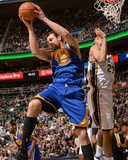Jan 31, 2014, Golden State Warriors vs Utah Jazz - Andrew Bogut Photographic Print by Noah Graham