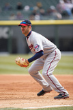 Apr 2, 2014, Minnesota Twins vs Chicago White Sox - Joe Mauer Photographic Print by Ron Vesely
