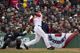 Apr 4, 2014, Milwaukee Brewers vs Boston Red Sox - Grady Sizemore Photographic Print by Winslow Townson