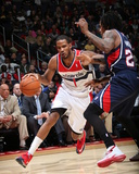 Mar 29, 2014, Atlanta Hawks vs Washington Wizards - Trevor Ariza Photographic Print by Stephen Gosling