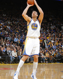 Jan 15, 2014, Denver Nuggets vs Golden State Warriors - Andrew Bogut Photographic Print by Rocky Widner