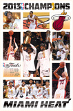 2013 NBA Finals - Celebration Posters