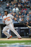 Apr 7, 2014, Baltimore Orioles vs New York Yankees - Nelson Cruz Photographic Print by Rob Tringali