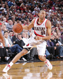 Mar 18, 2014, Milwaukee Bucks vs Portland Trail Blazers - Nicolas Batum Photographic Print by Sam Forencich