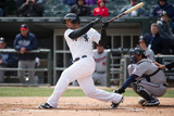 Apr 2, 2014, Minnesota Twins vs Chicago White Sox - Jose Abreu Photographic Print by Ron Vesely
