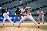Apr 2, 2014, Minnesota Twins vs Chicago White Sox - Samuel Deduno Photographic Print by Ron Vesely