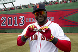 Apr 4, 2014, Milwaukee Brewers vs Boston Red Sox - David Ortiz Photographic Print by Winslow Townson