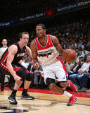 Apr 14, 2014, Miami Heat vs Washington Wizards - Trevor Ariza Photographic Print by Ned Dishman