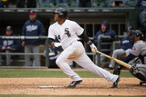 Apr 2, 2014, Minnesota Twins vs Chicago White Sox - Dayan Viciedo Photographic Print by Ron Vesely