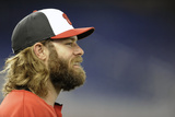 Apr 16, 2014, Washington Nationals vs Miami Marlins - Jayson Werth Photographic Print by Rhona Wise