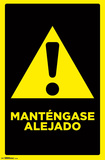 Mantengase Alejado (Keep Out Spanish) Poster