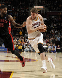Mar 25, 2014, Toronto Raptors vs Cleveland Cavaliers - Spencer Hawes Photographic Print by David Liam Kyle