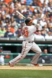 Apr 6, 2014, Baltimore Orioles vs Detroit Tigers - Nelson Cruz Photographic Print by John Grieshop