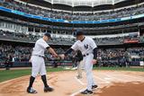 Apr 7, 2014, Baltimore Orioles vs New York Yankees - Joe Girardi, Brett Gardner Photographic Print by Rob Tringali