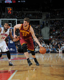 Mar 26, 2014, Cleveland Cavaliers vs Detroit Pistons - Spencer Hawes Photographic Print by Allen Einstein