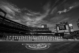 Mar 31, 2014: New York, NY - Washington Nationals vs New York Mets - Opening Day at Citi Field Photographic Print by Rob Tringali