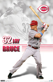Reds - J Bruce 11 Posters