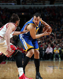 Feb 26, 2014, Golden State Warriors vs Chicago Bulls - Andrew Bogut Photographic Print by Gary Dineen
