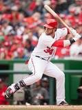 Apr 4, 2014, Atlanta Braves vs Washington Nationals - Bryce Harper Photographic Print by Mitchell Layton