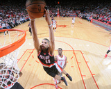 Mar 9, 2014, Portland Trail Blazers vs Houston Rockets - Nicolas Batum Photo by Bill Baptist
