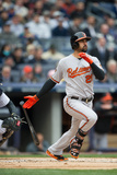 Apr 7, 2014, Baltimore Orioles vs New York Yankees - Nick Markakis Photographic Print by Rob Tringali