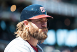 Mar 31, 2014, Washington Nationals vs New York Mets - Jayson Werth Photographic Print by Rob Tringali