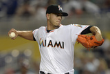 Apr 16, 2014, Washington Nationals vs Miami Marlins - Jose Fernandez Photographic Print by Rhona Wise