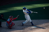 Mar 31, 2014, Washington Nationals vs New York Mets - Travis d'Arnaud Photographic Print by Rob Tringali