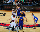 Jan 3, 2014, Golden State Warriors vs Atlanta Hawks - Andrew Bogut Photographic Print by Scott Cunningham