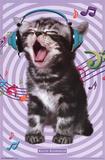 Kitten - Singing 14 Plakaty
