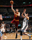 Mar 1, 2014, Cleveland Cavaliers vs Memphis Grizzlies - Spencer Hawes Photographic Print by Joe Murphy