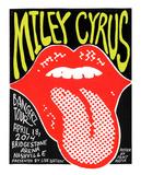 Miley Cyrus Serigrafi (silketryk) af  Print Mafia