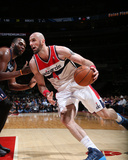 Apr 9, 2014, Charlotte Bobcats vs Washington Wizards - Marcin Gortat Photographic Print by Ned Dishman