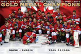 Hockey Canada - Celebration Posters