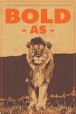 Bold Plakat