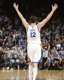 Mar 11, 2014, Dallas Mavericks vs Golden State Warriors - Andrew Bogut Fotografisk trykk av Rocky Widner