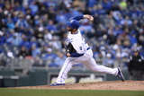 Apr 4, 2014, Chicago White Sox vs Kansas City Royals - Greg Holland Photographic Print by John Williamson