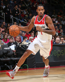 Dec 6, 2013, Milwaukee Bucks vs Washington Wizards - Trevor Ariza Photographic Print by Ned Dishman