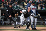 Apr 2, 2014, Minnesota Twins vs Chicago White Sox - Tyler Flowers Photographic Print by Ron Vesely